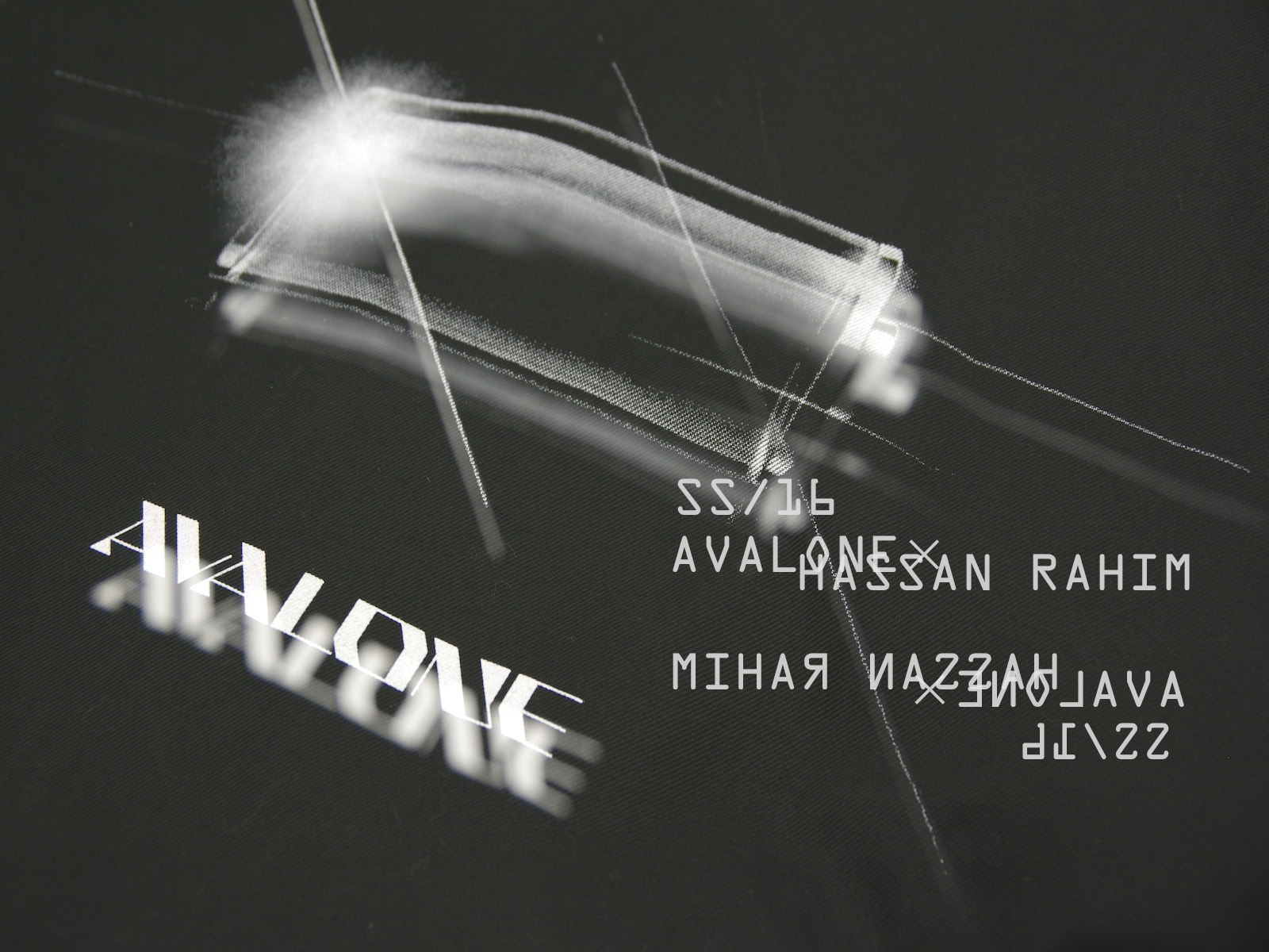 AVALONE S/S16 collaborated by HASSAN RAHIM
