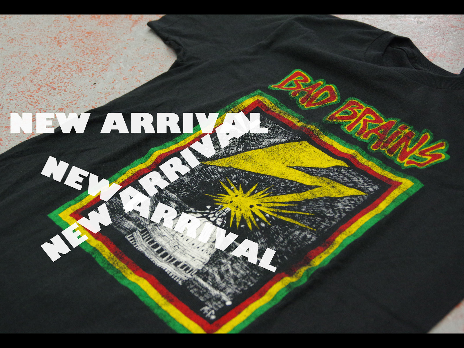 NEW ARRIVAL – BAD BRAINS