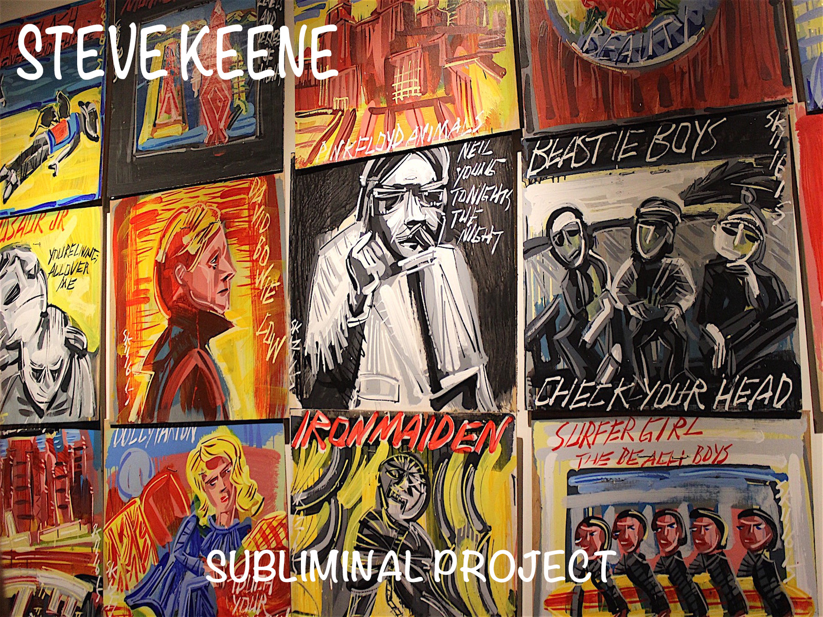 STEVE KEENE – SUBLIMINAL PROJECT