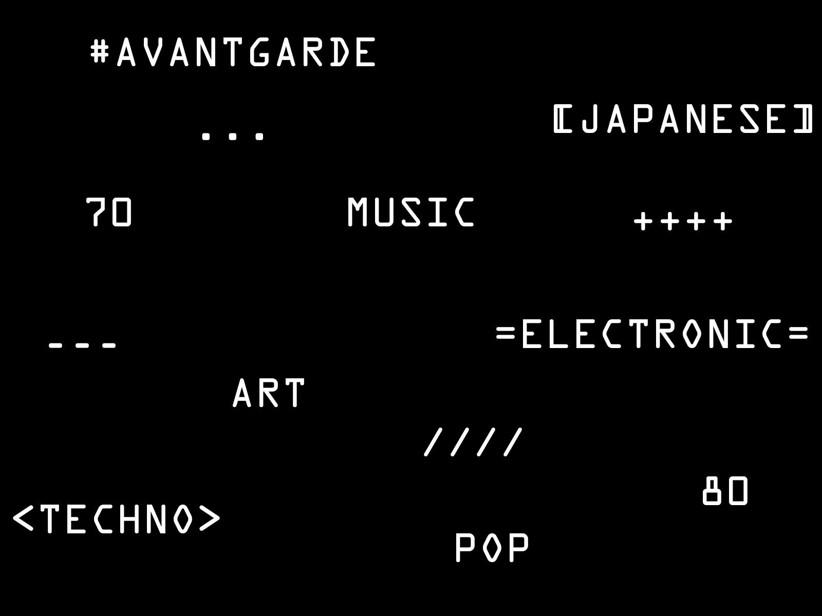 JAPANESE AVANT-GARDE MUSIC