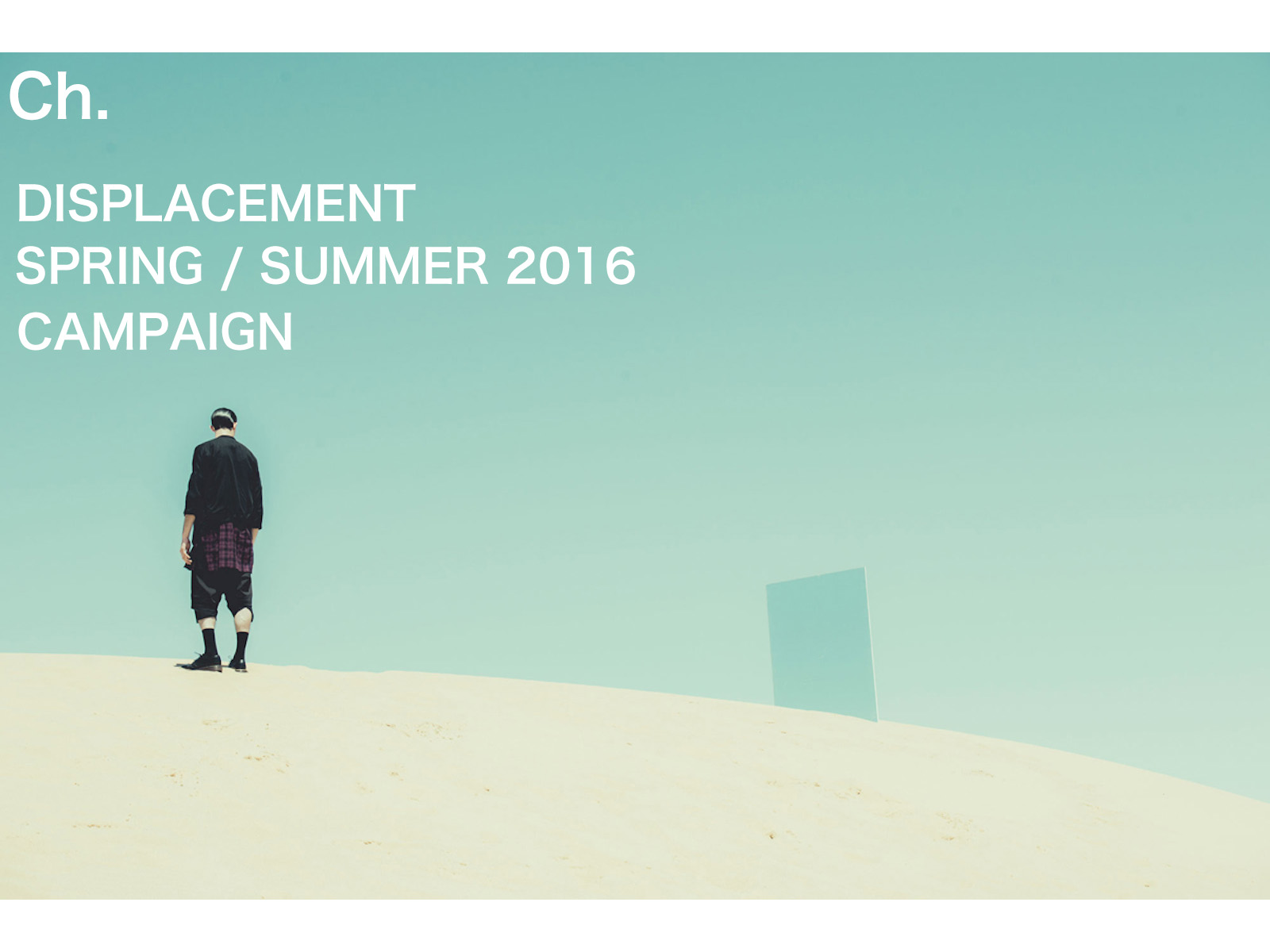 CHAPTER SS16 CAMPAIGN