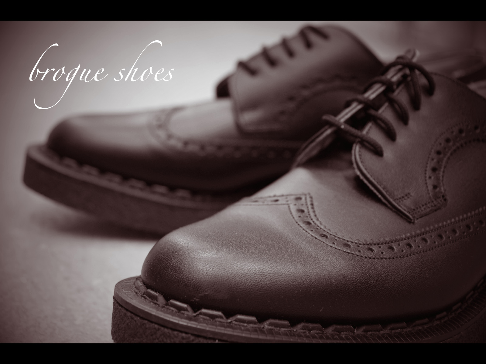 STORY OF BROGUE SHOES
