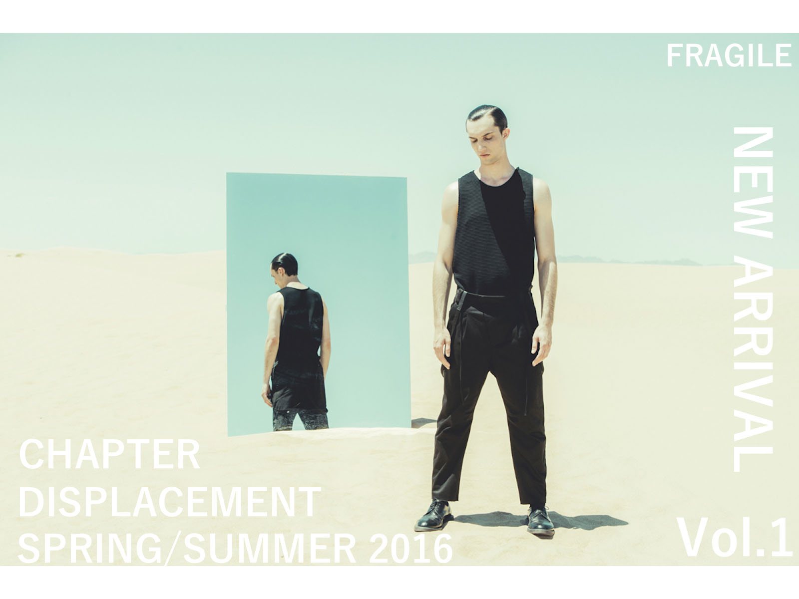 NEW ARRIVAL – CHAPTER SPRING / SUMMER 2016 Vol. 1