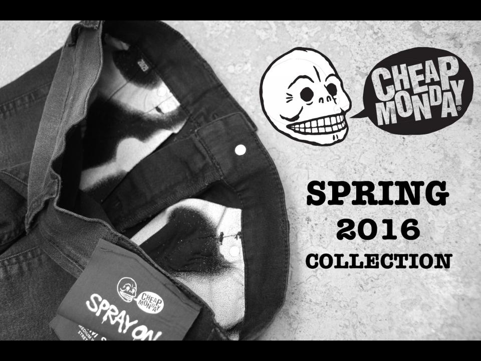 CHEAP MONDAY 2016 SS