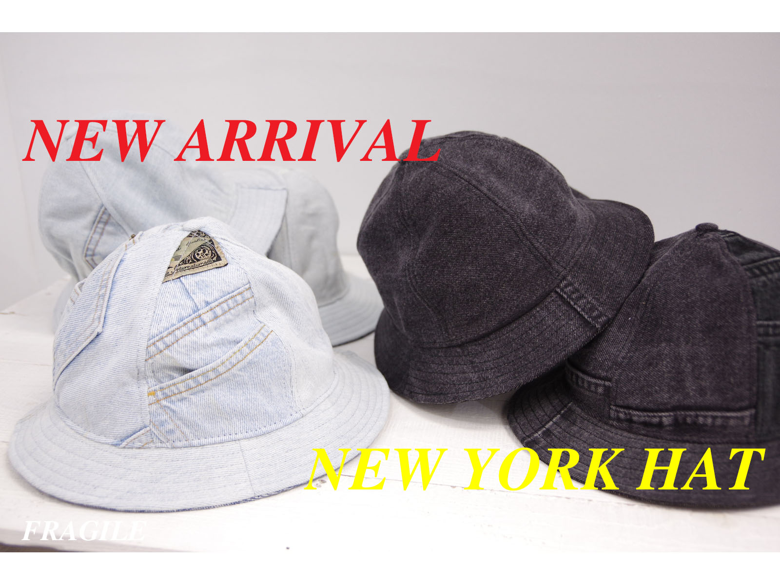 NEW ARRIVAL – NEW YORK HAT SPRING 2016