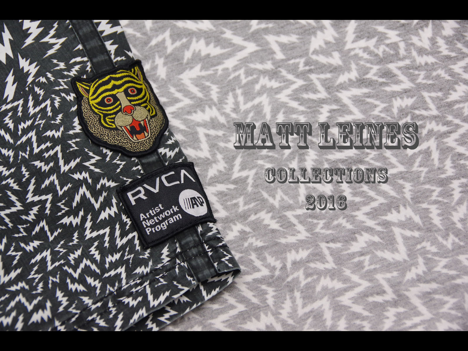 NEW ARRIVAL – RVCA × MATT LEINES COLLECTIONS