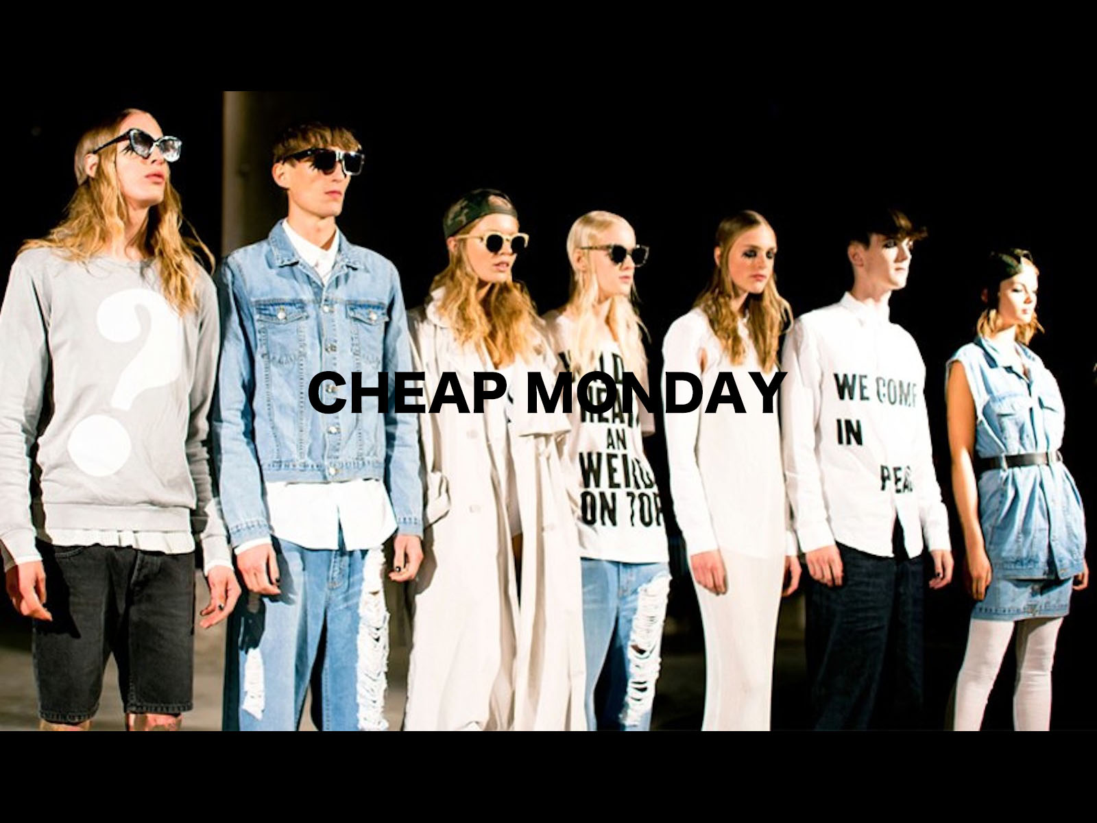 CHEAP MONDAY Designed by Ann-Sofie Back