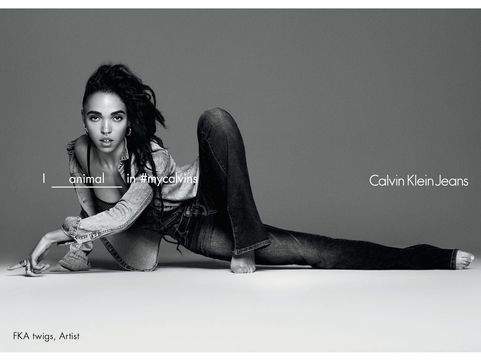 FKA TWIGS for CALVIN KLEIN