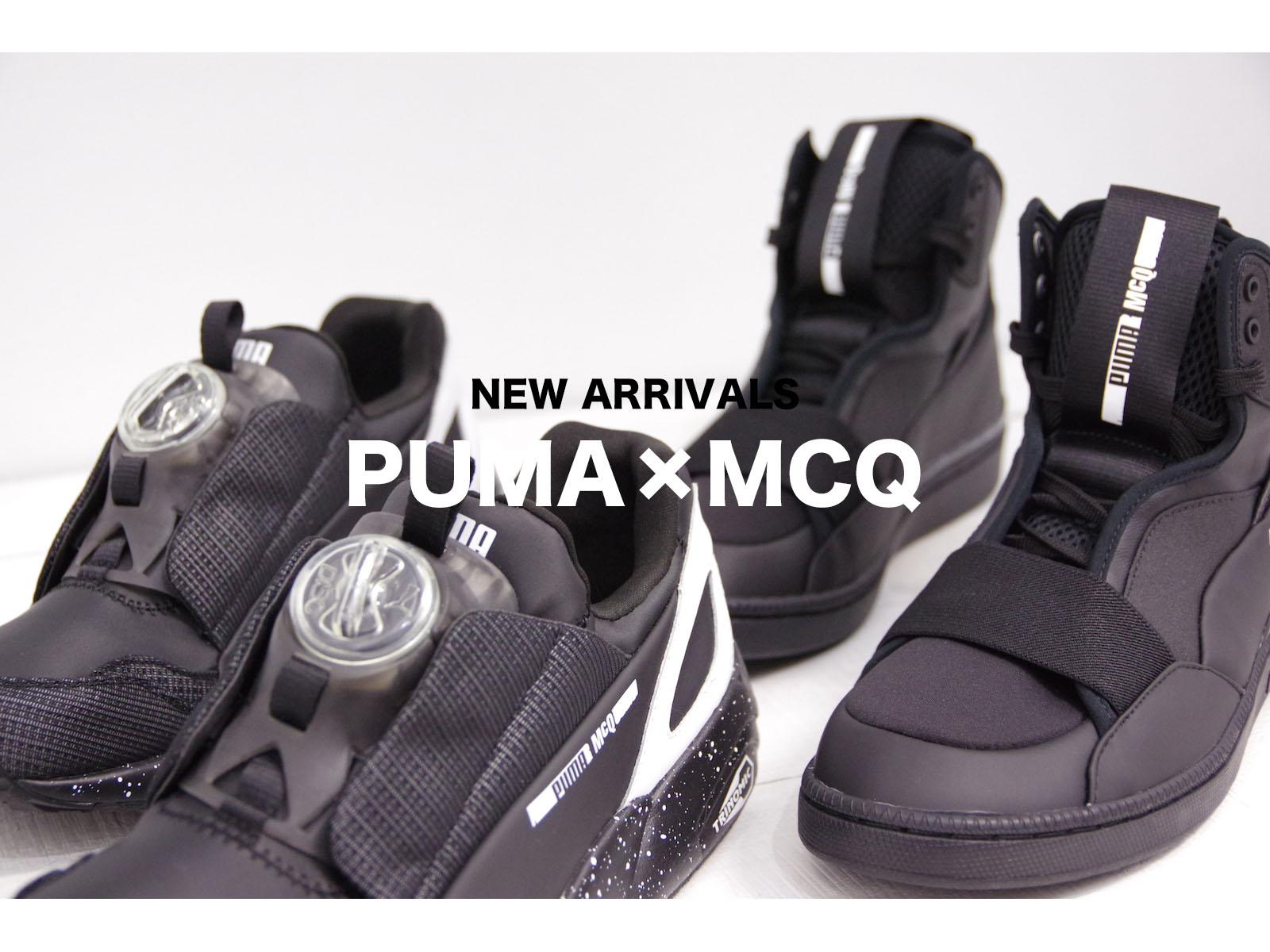 PUMA × MCQ – 2016 SPRING/SUMMER