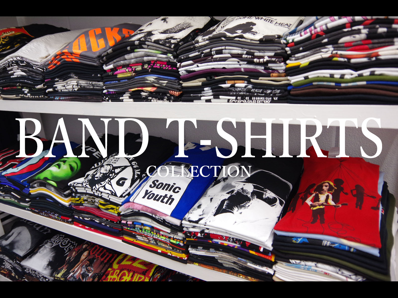 BAND T-SHIRTS COLLECTION PART:1
