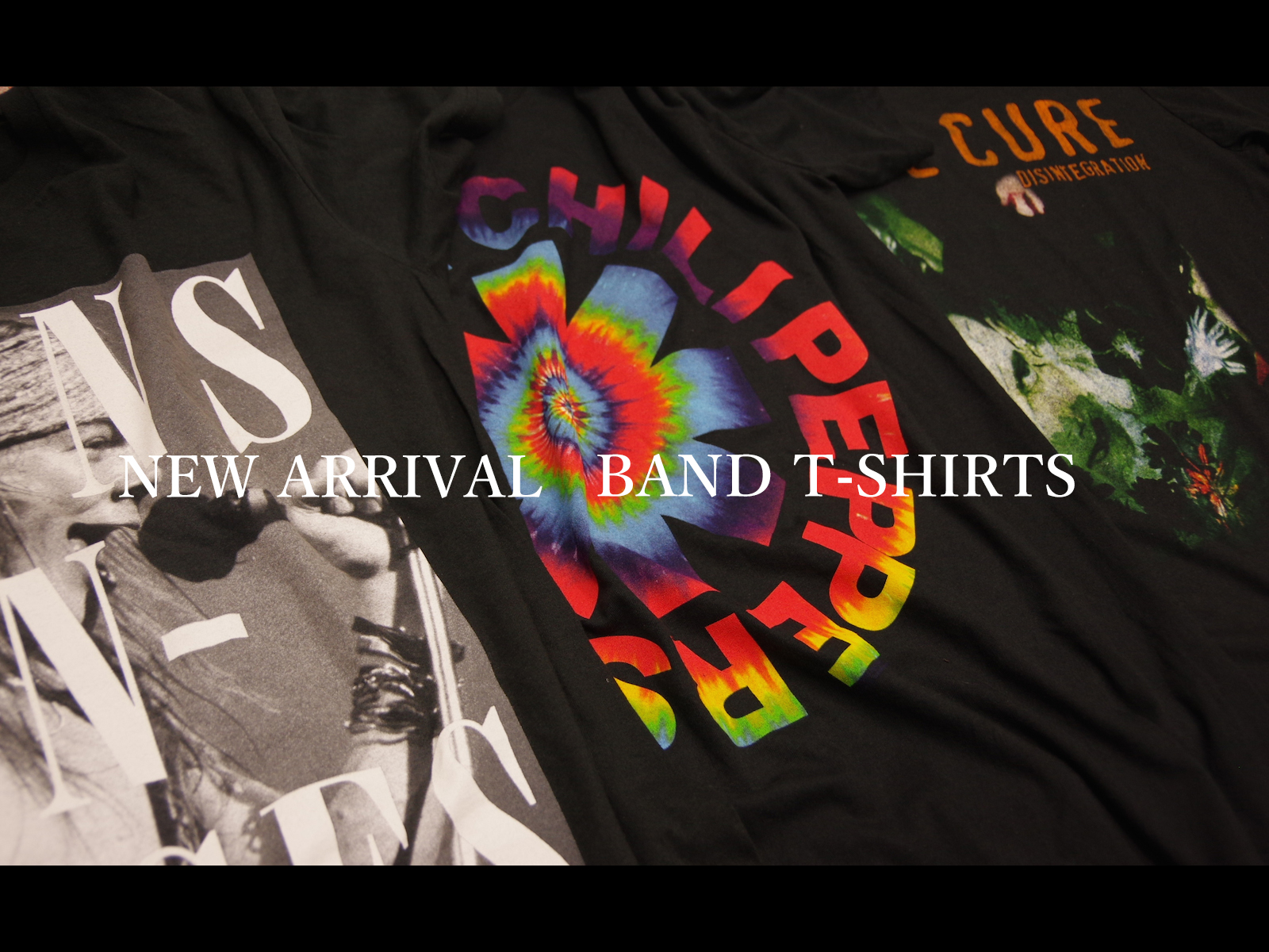 NEW ARRIVAL / BAND T-SHIRTS SUMMER 2016 Vol.2