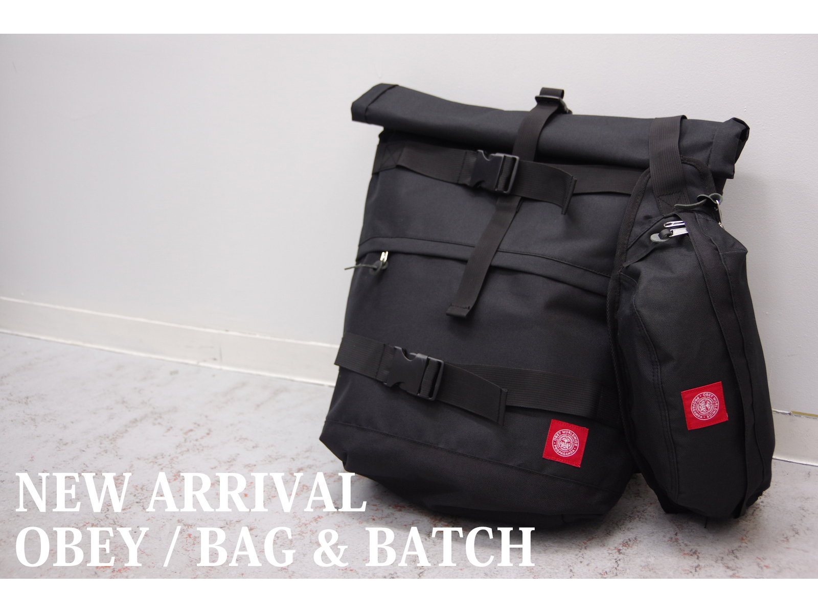 NEW ARRIVAL – OBEY / BAG & BATCH