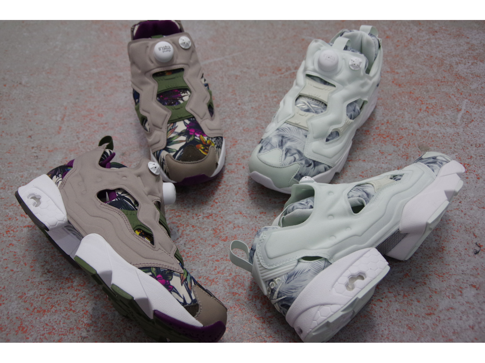 NEW ARRIVAL / REEBOK CLASSIC INSTAPUMP FURY SG BOTANICAL PACK