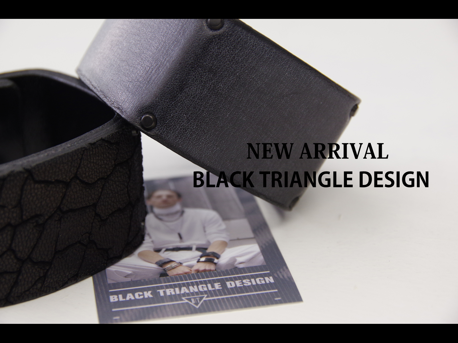 NEW ARRIVAL – BLACK TRIANGLE DESIGN 6th Collection [BRUTALIST]