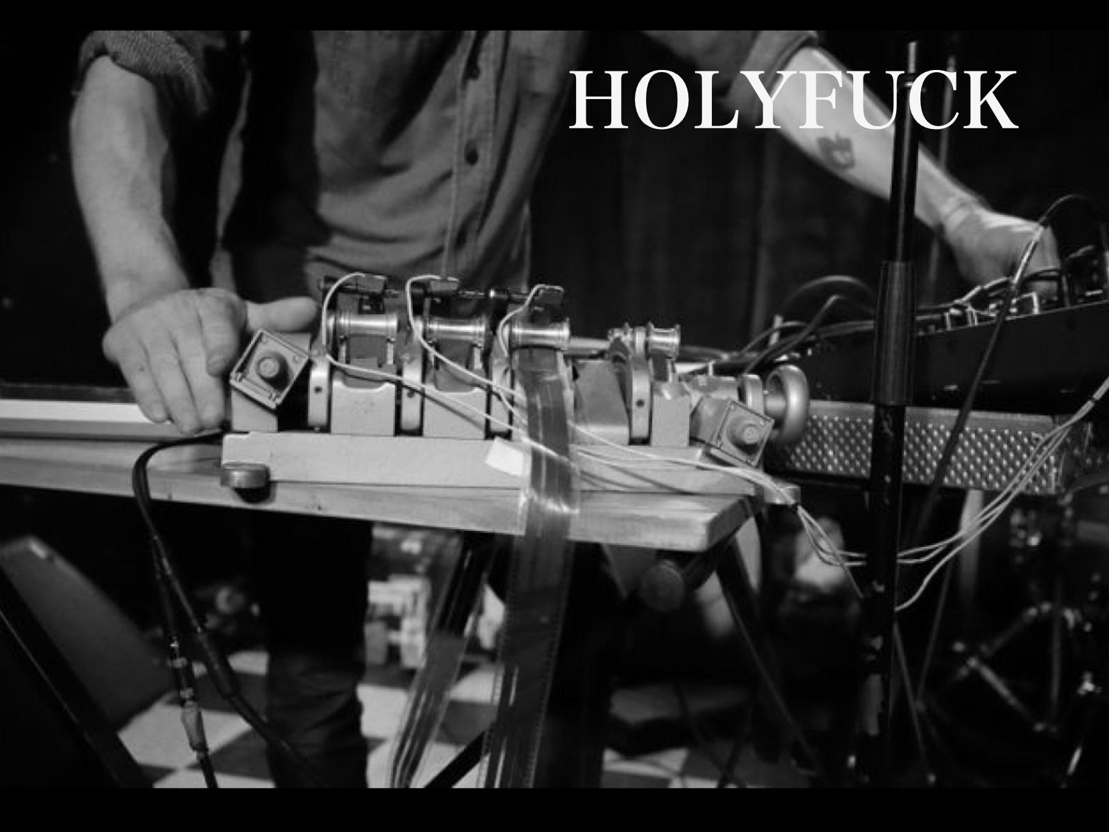 HOLYFUCK LIVE AT CLUB BAHIA L.A