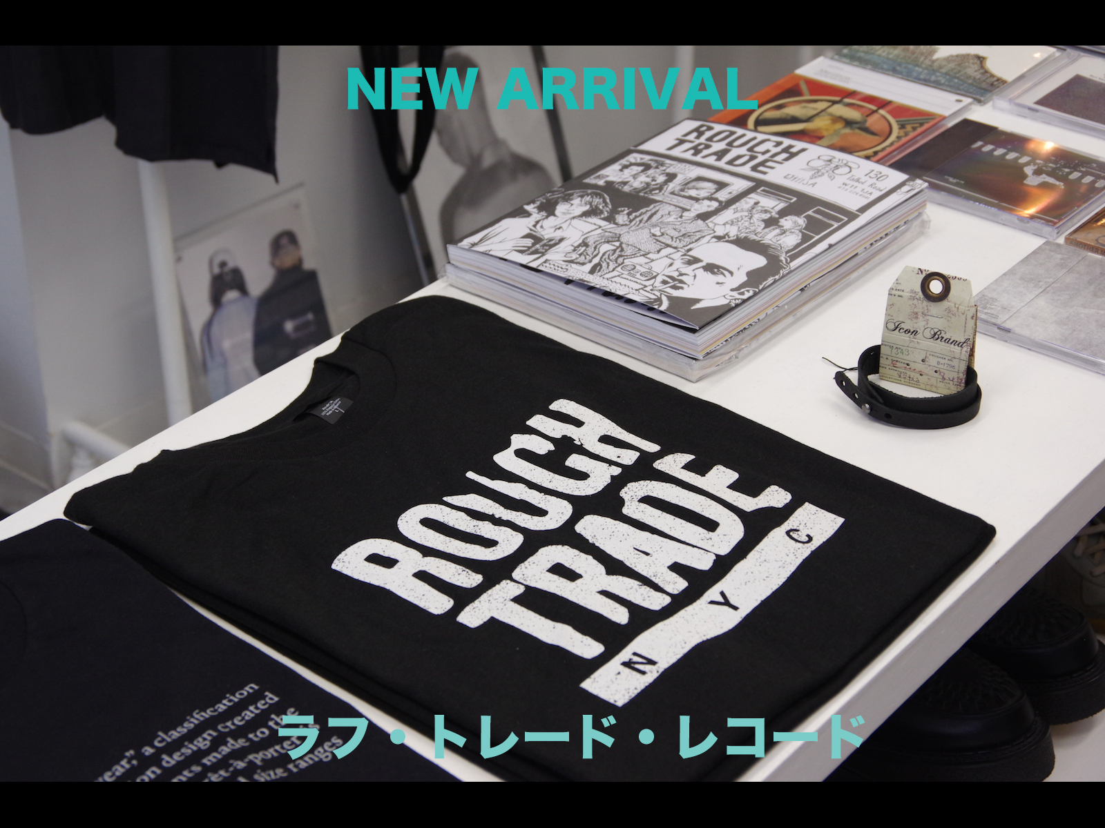 NEW ARRIVAL: ROUGH TRADE LIMITED ITEM