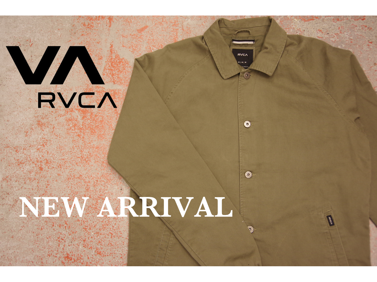 NEW ARRIVAL: RVCA – AUTUMN/WINTER 2016