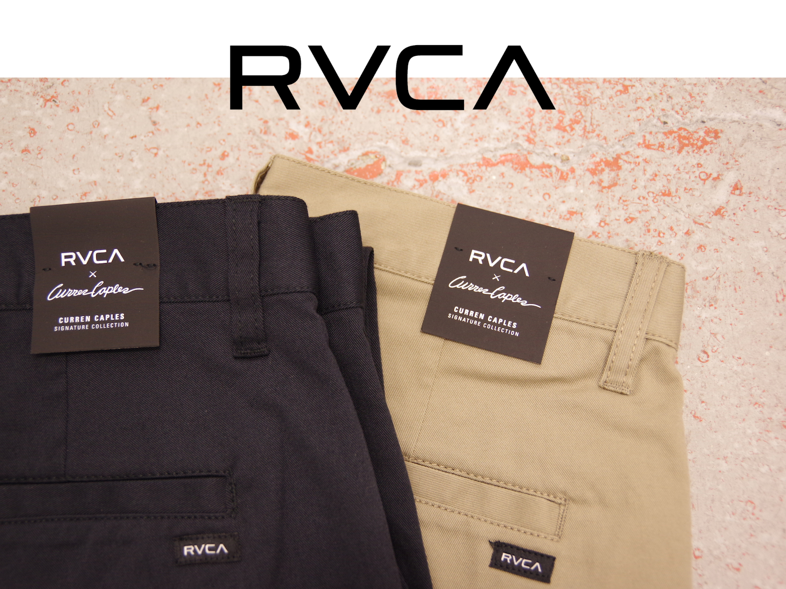 RVCA × CURREN CAPLES – Signature Collection