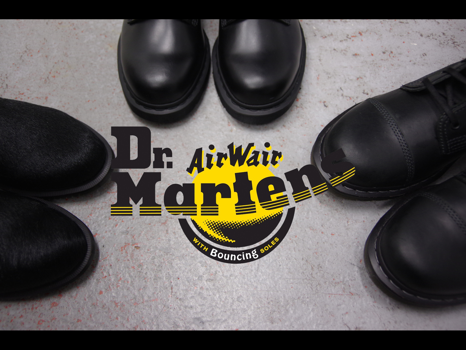 Dr. Martens – ALL BLACK SERIES