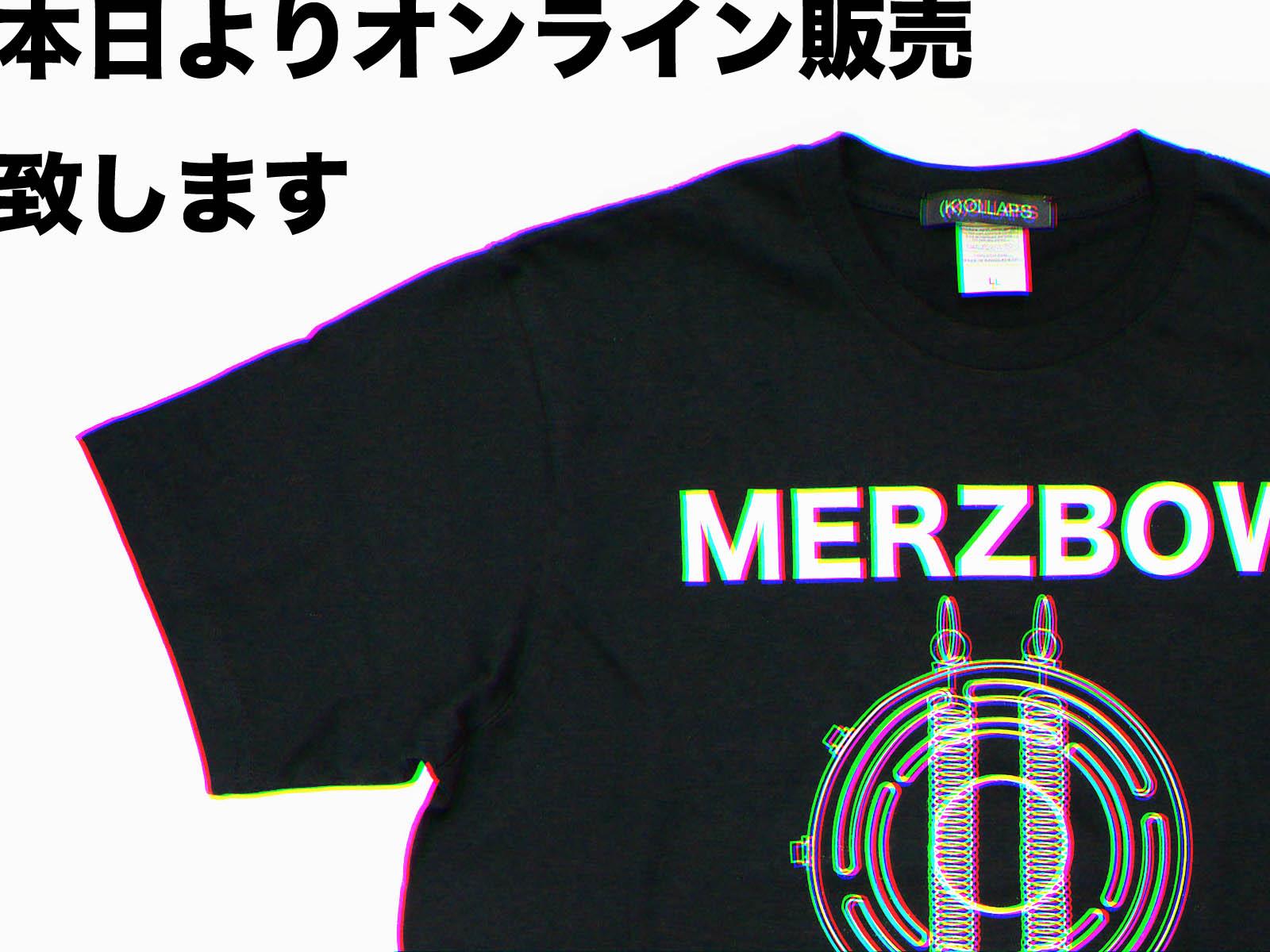 MERZBOW×(K)OLLAPS オンラインにて発売開始しました