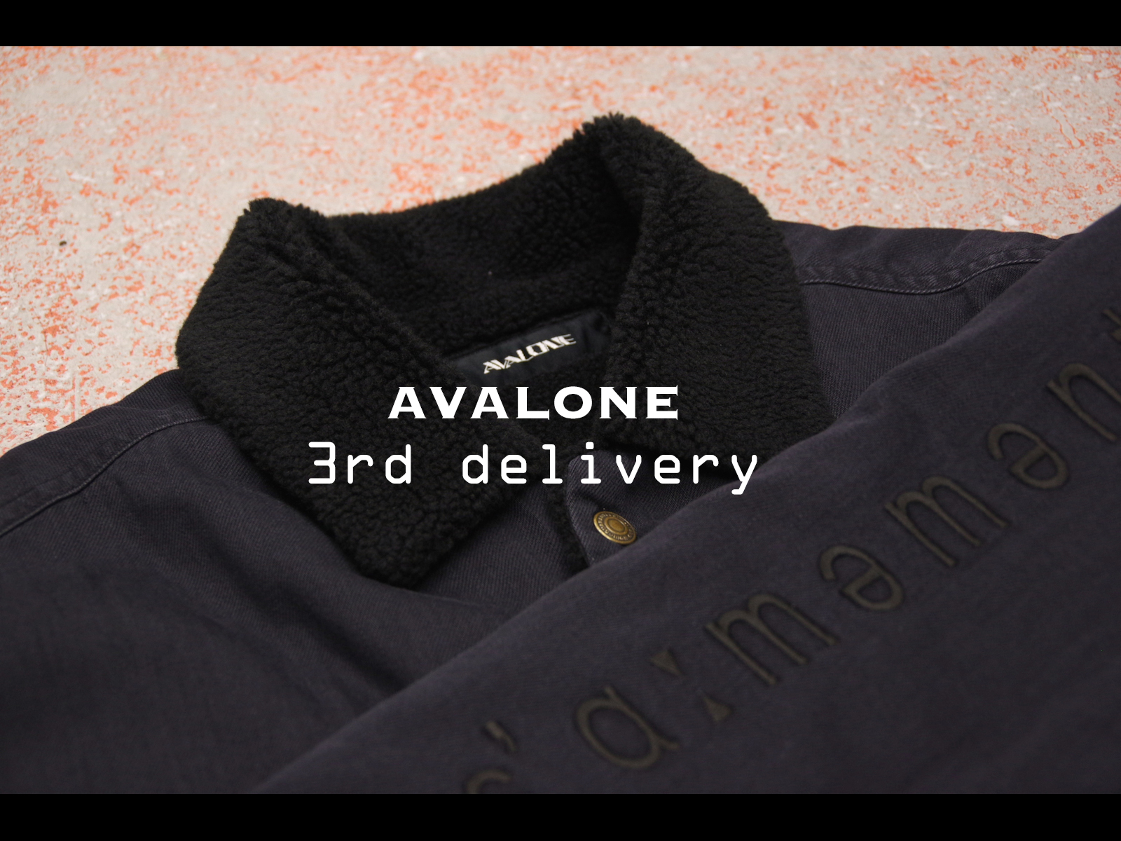 NEW ARRIVAL – AVALONE / 16AW 3rd delivery