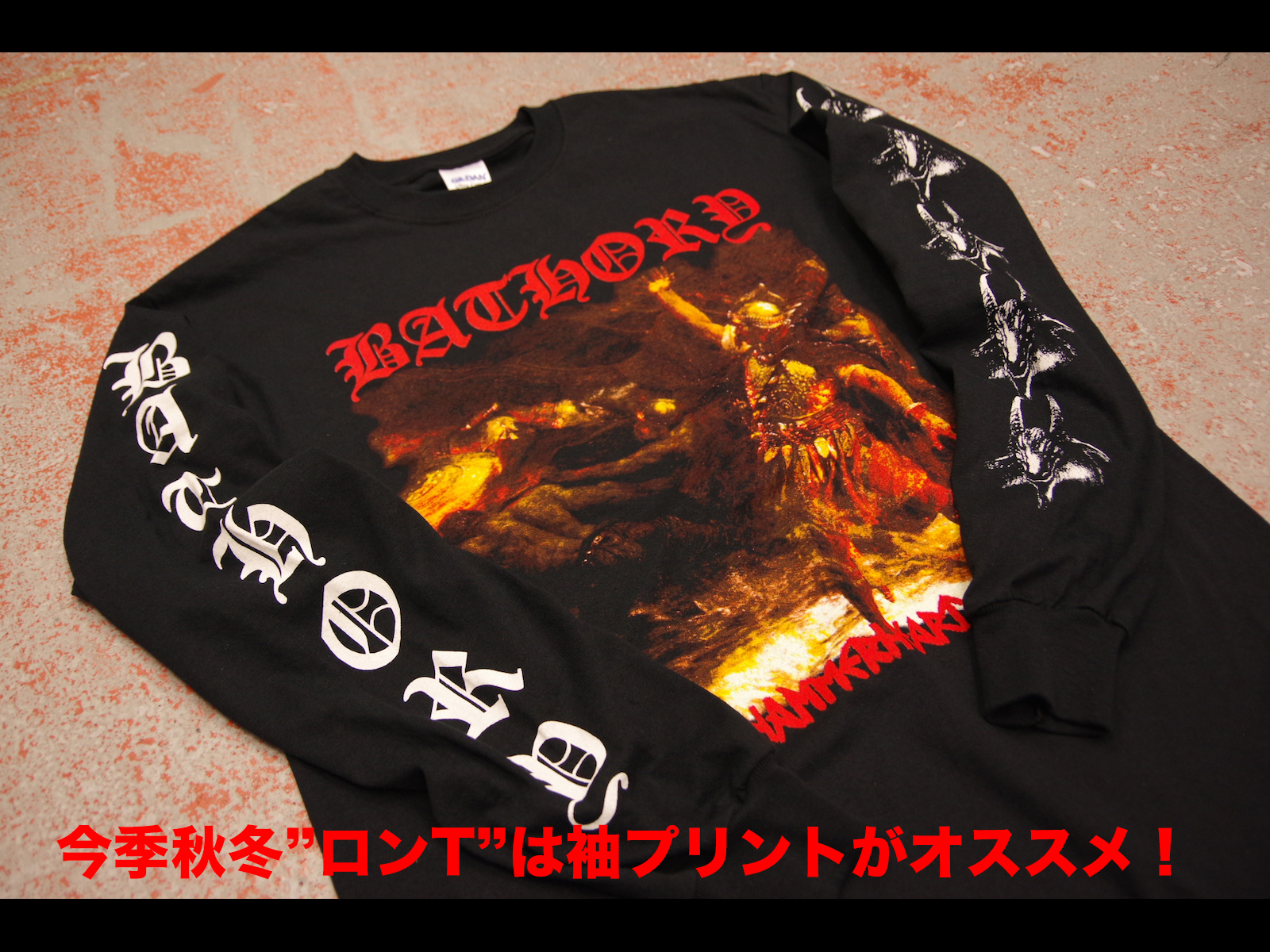 [NEW ITEM] – BATHORY LONGSLEEVE T-SHIRTS