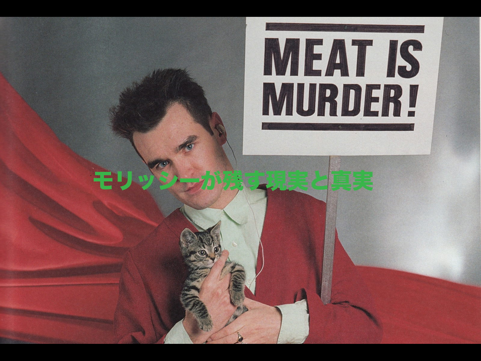 MORRISSEY – Meat is Murder