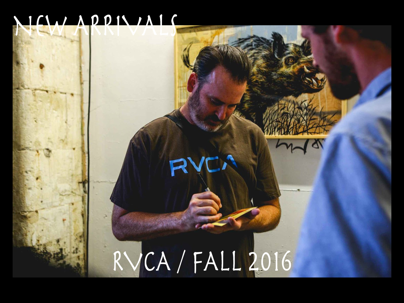 NEW ARRIVALS – RVCA FALL 2016