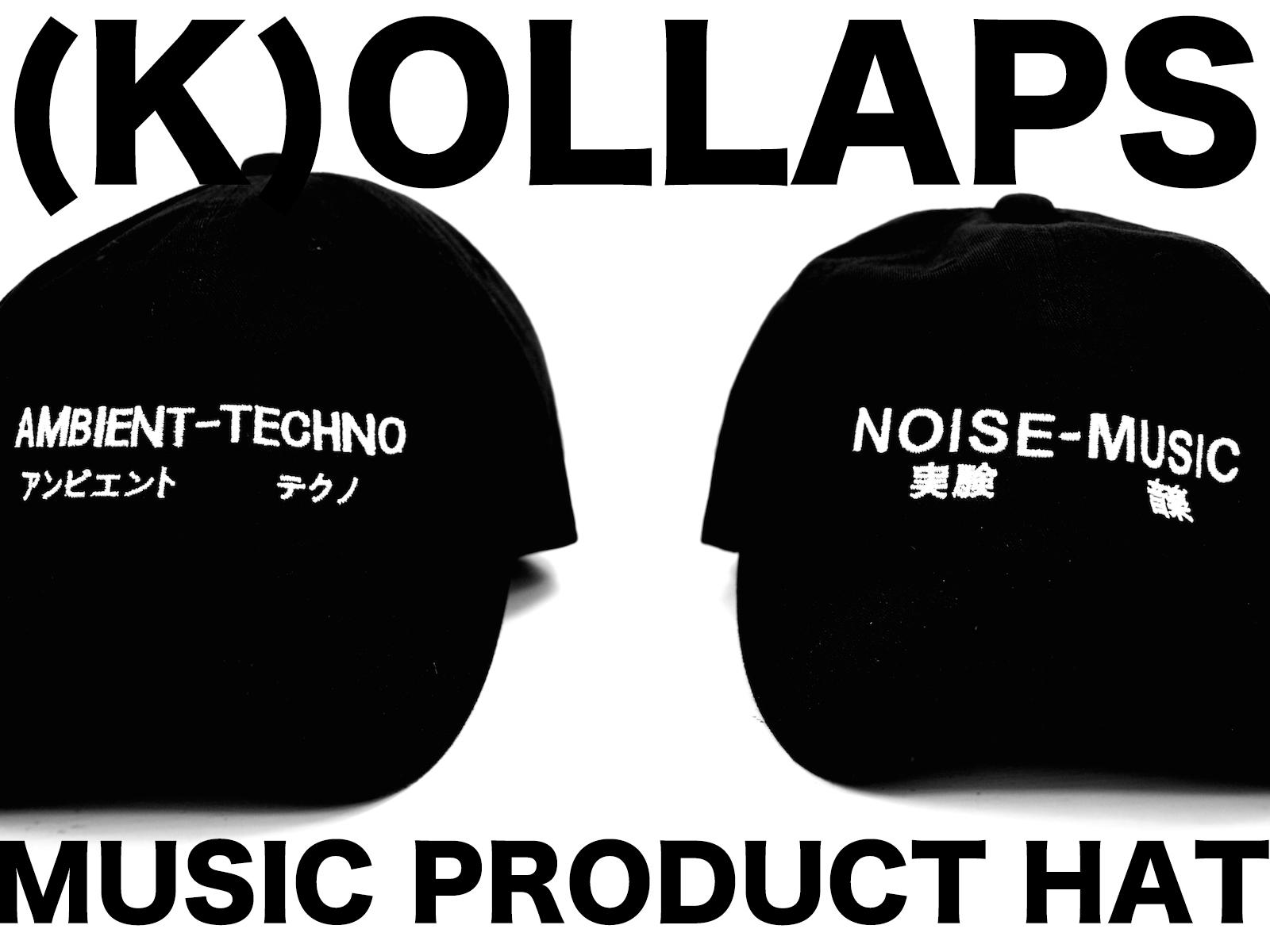 NEW ARRIVALS: (K)OLLAPS – ミュージックキャップ 第二弾