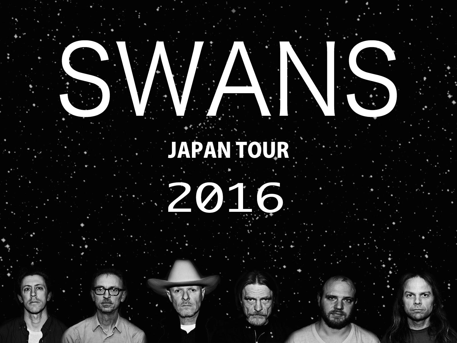 SWANS JAPAN TOUR 2016