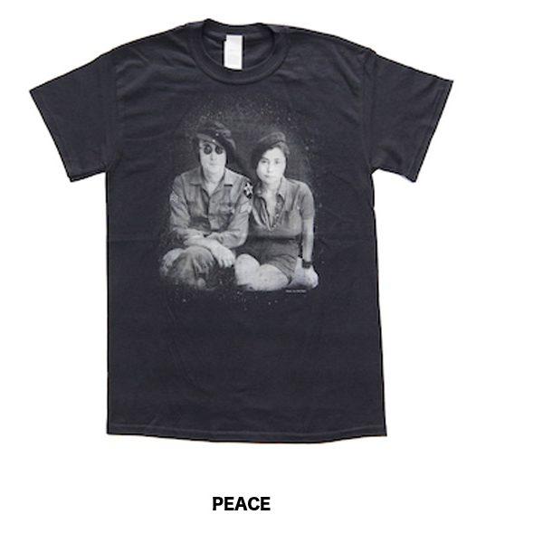ジョン・レノン&オノ・ヨーコ オフィシャルTシャツ入荷しました!