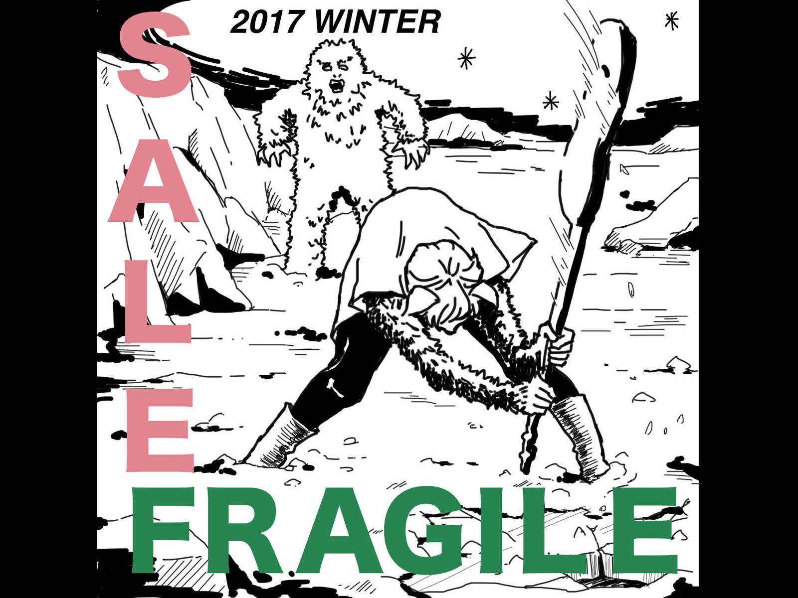 WINTER SALE2017のお知らせ