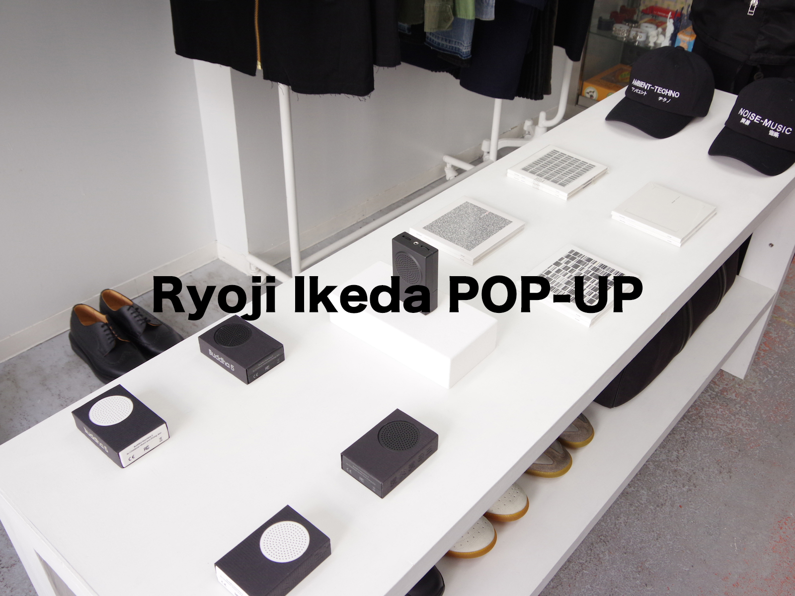 Ryoji Ikeda POP-UP