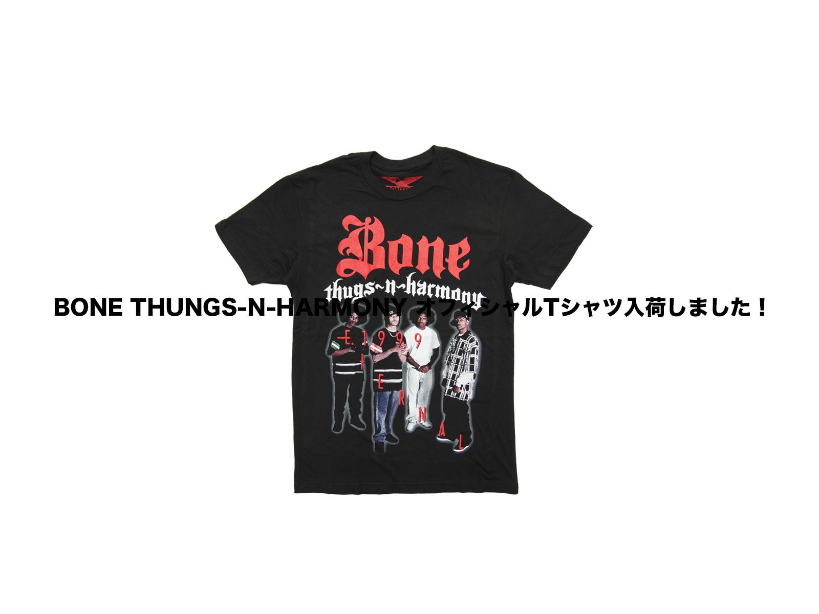 BONE THUNGS-N-HARMONY オフィシャルTシャツ入荷しました!
