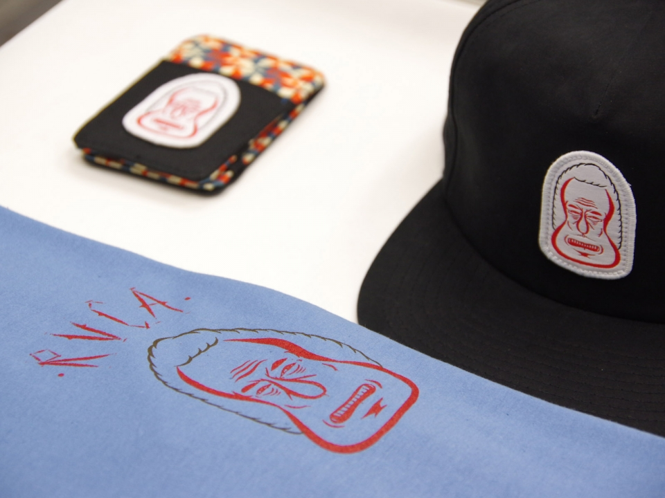 RVCA × Barry Mcgee