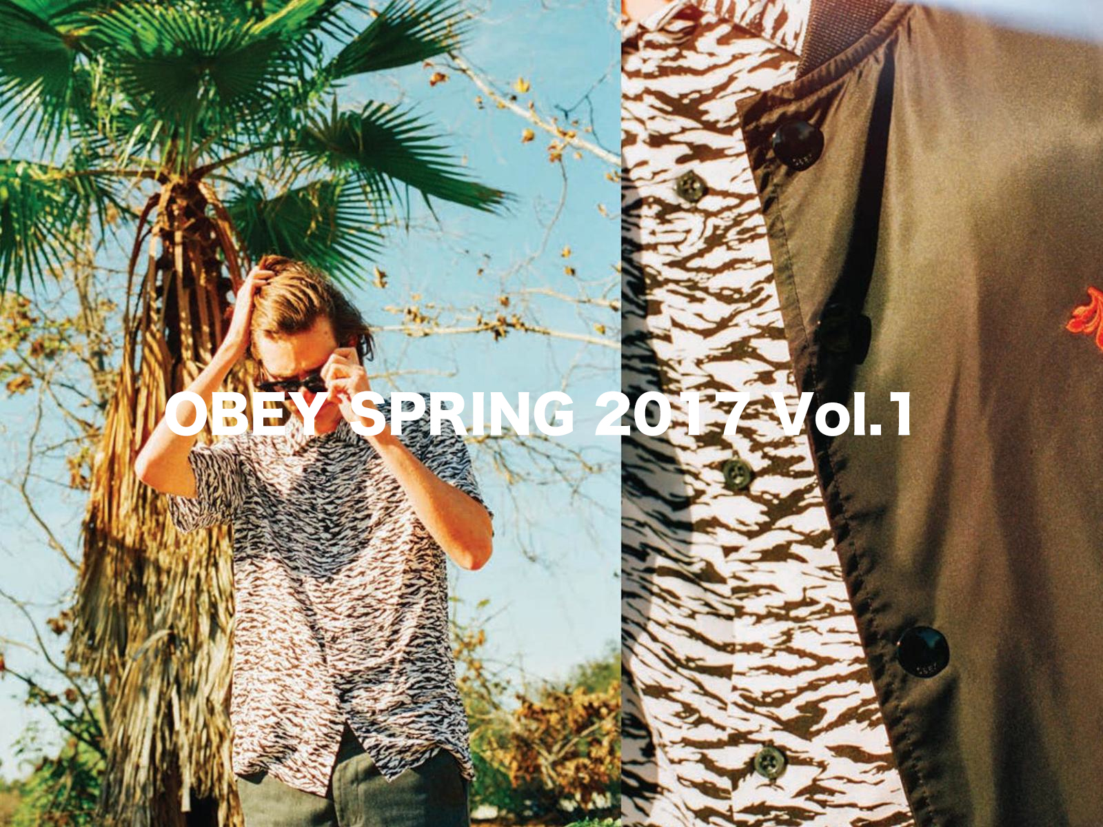 OBEY SPRING 2017 第一弾入荷