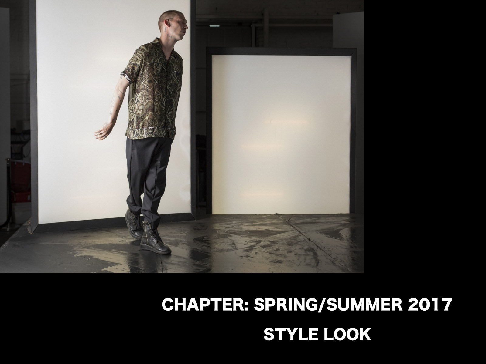 CHAPTER SPRING SUMMER 2017 STYLE LOOK