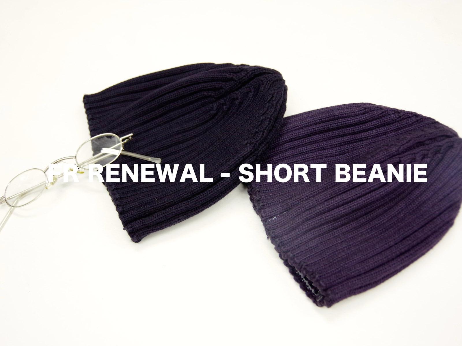 FR RENEWAL – SHORT BEANIE