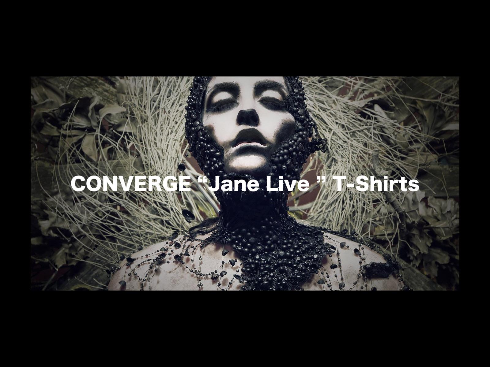 CONVERGE Jane Live T-Shirts