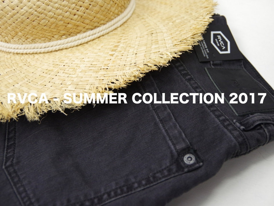 RVCA SUMMER COLLECTION 2017