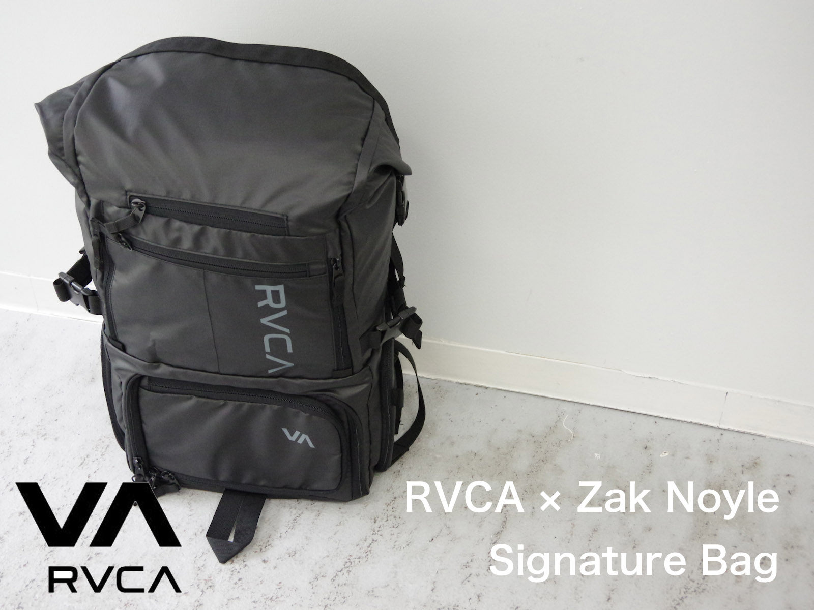 RVCA × Zak Noyle Signature Bag