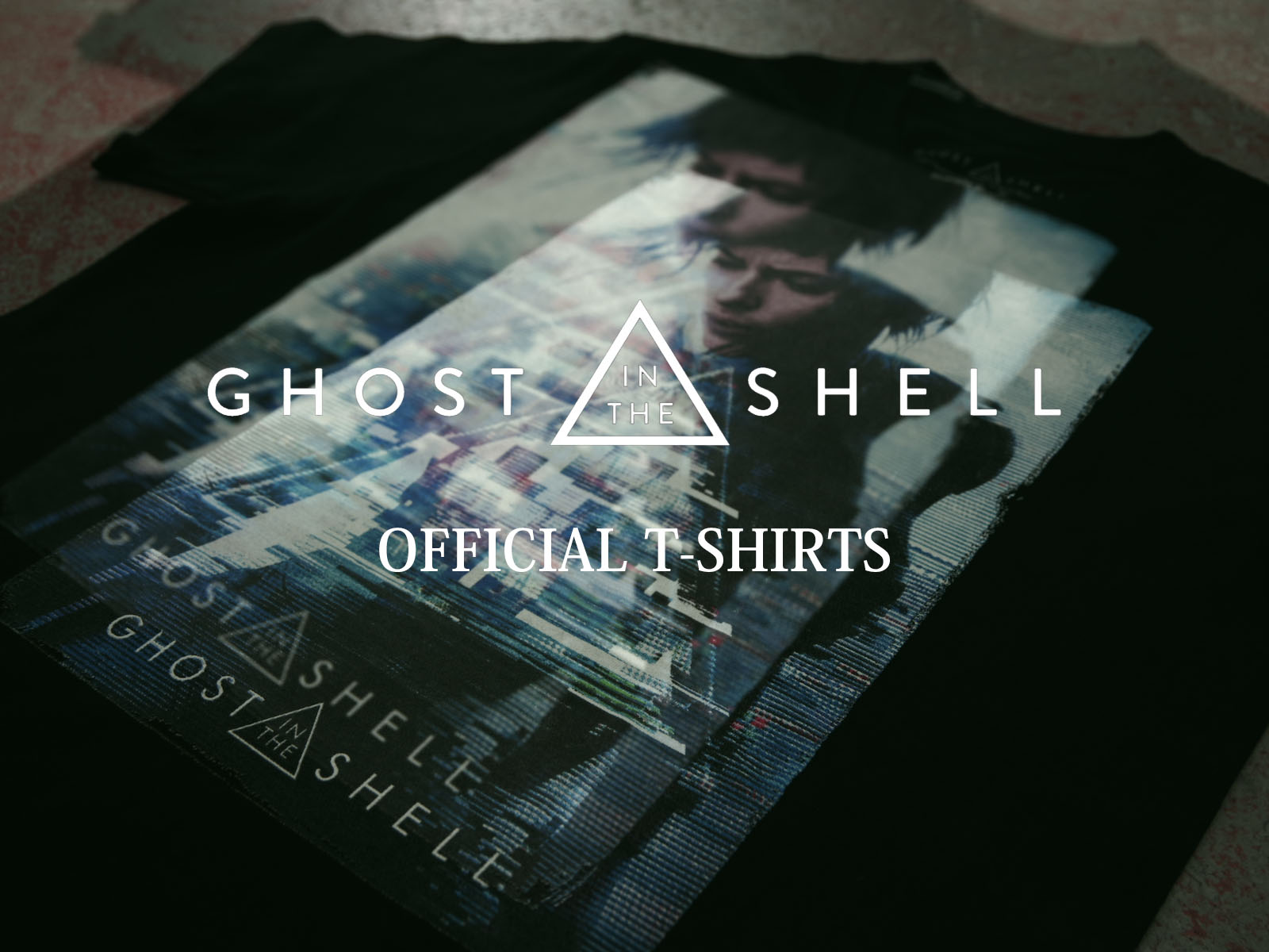 GHOST IN THE SHELL / ゴースト・イン・ザ・シェル OFFICIAL T-SHIRTS