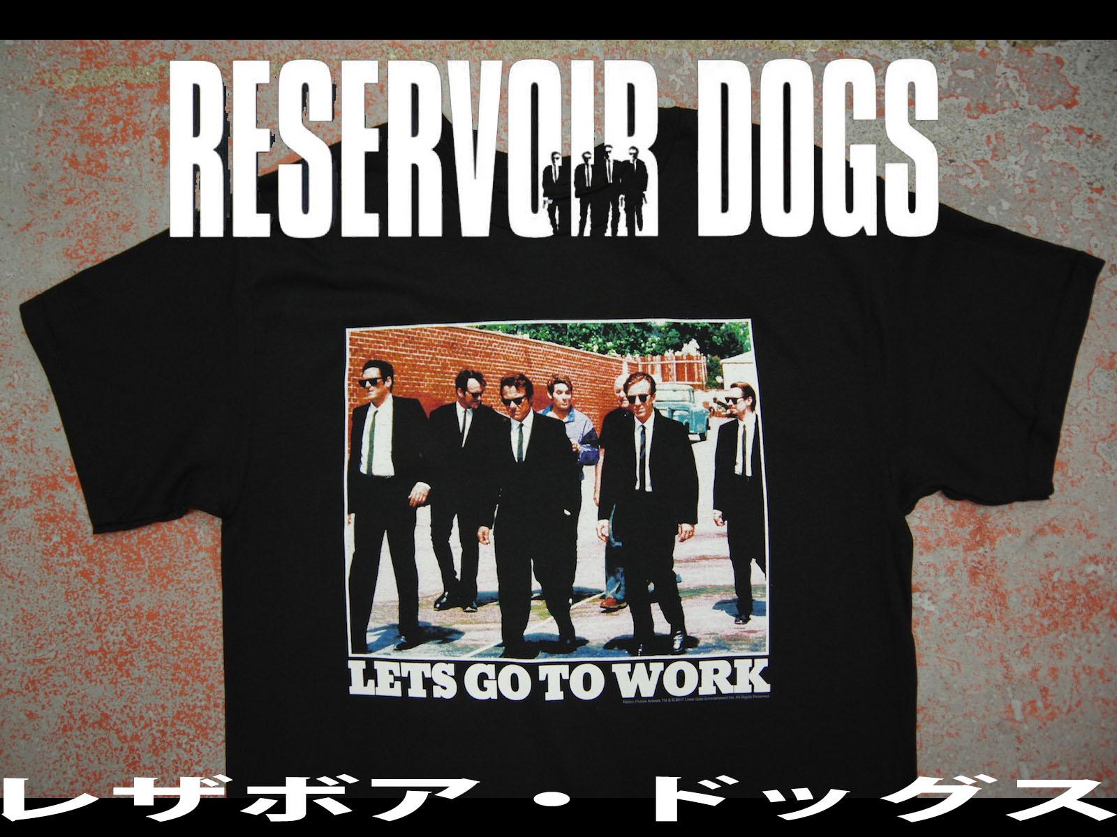 レザボア・ドッグス オフィシャルTシャツ