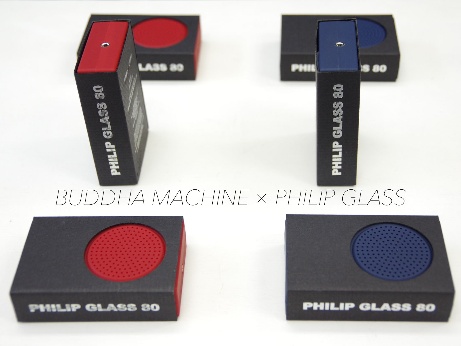 Buddha Machine × Philip Glass –  Installation