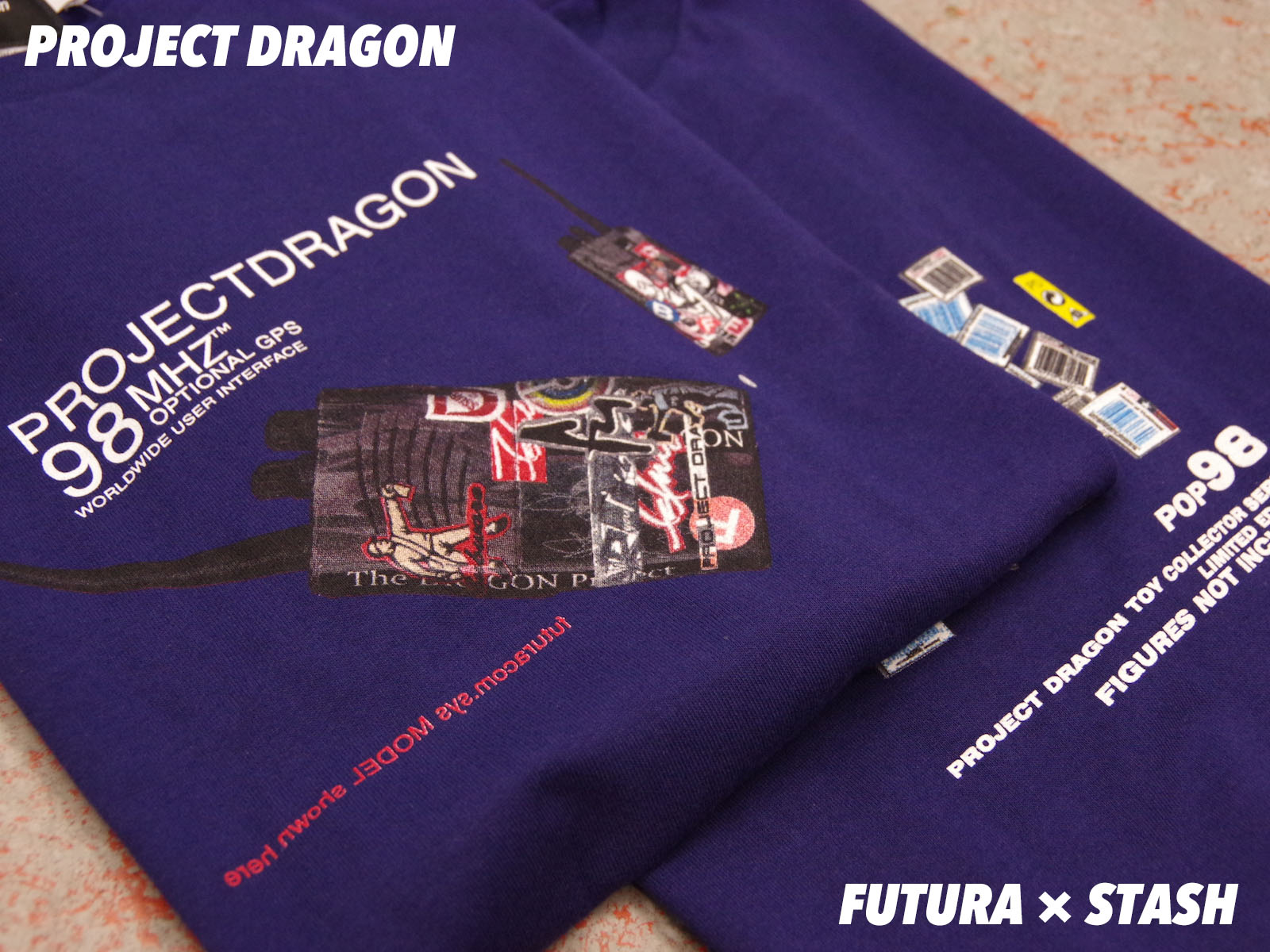 STASH × FUTURA 90's Item PROJECT DRAGON