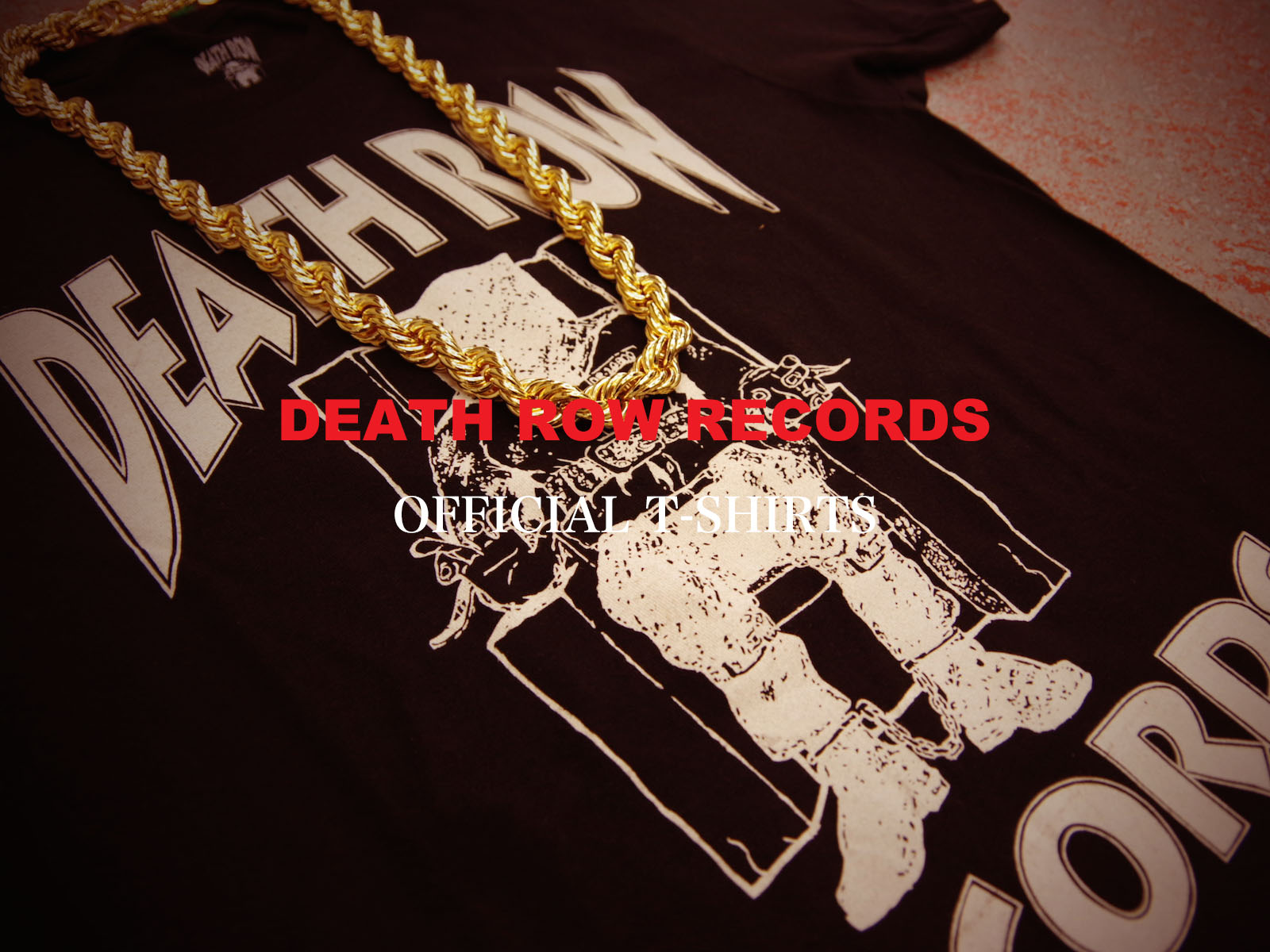DEATH ROW RECORDS OFFICAL T-SHIRTS