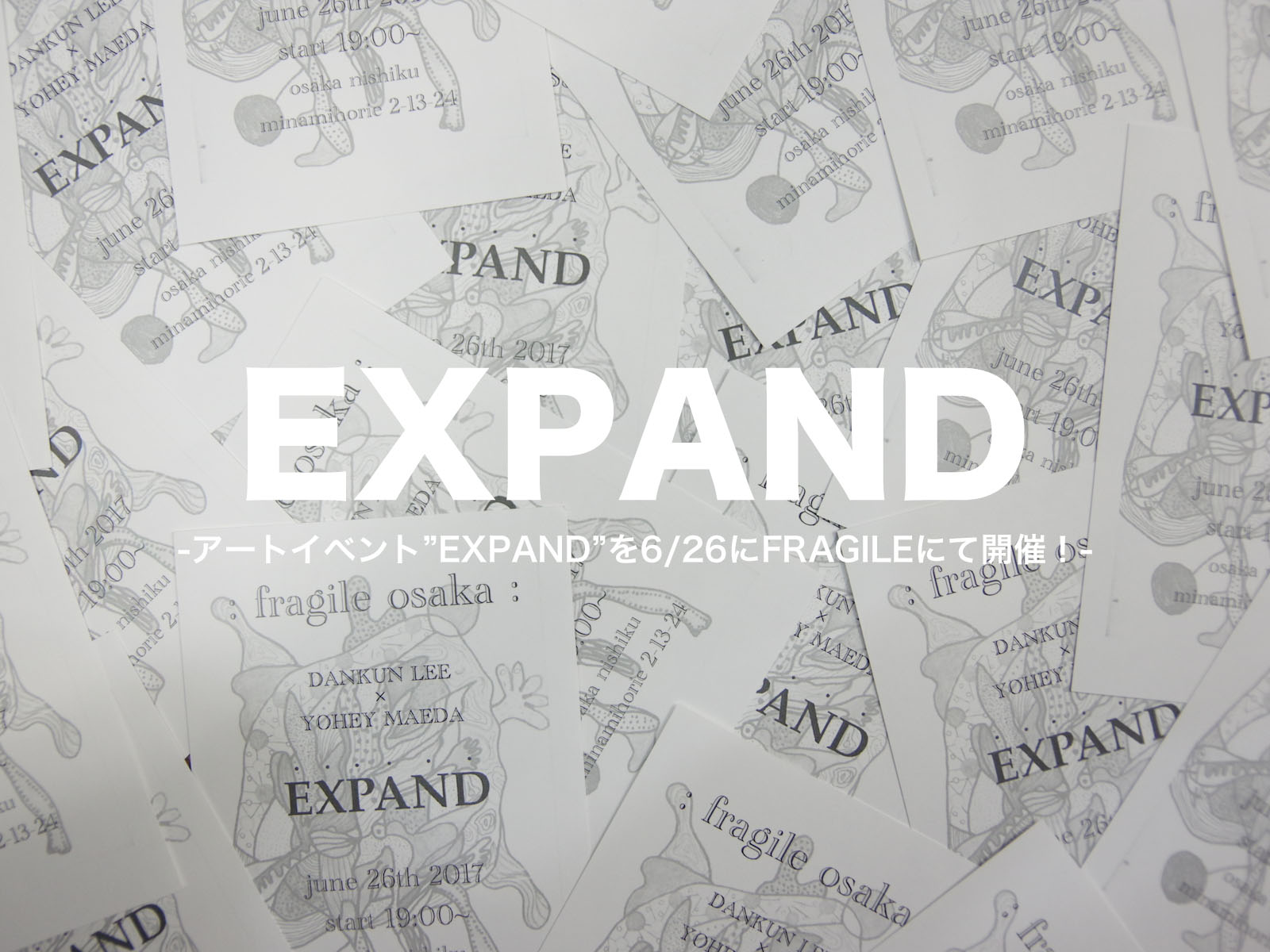 EVENT:  EXPAND at FRAGILE