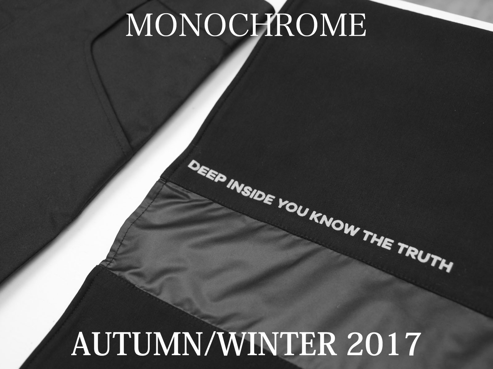 NEW ARRIVAL – MONOCHROME AUTUMN/WINTER 2017