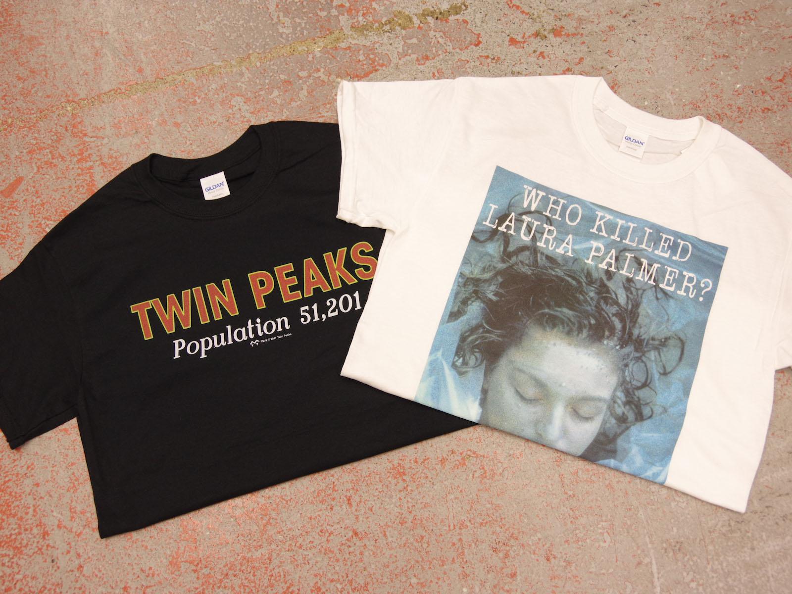 NEW ARRIVAL – ツイン・ピークス オフィシャルTシャツ