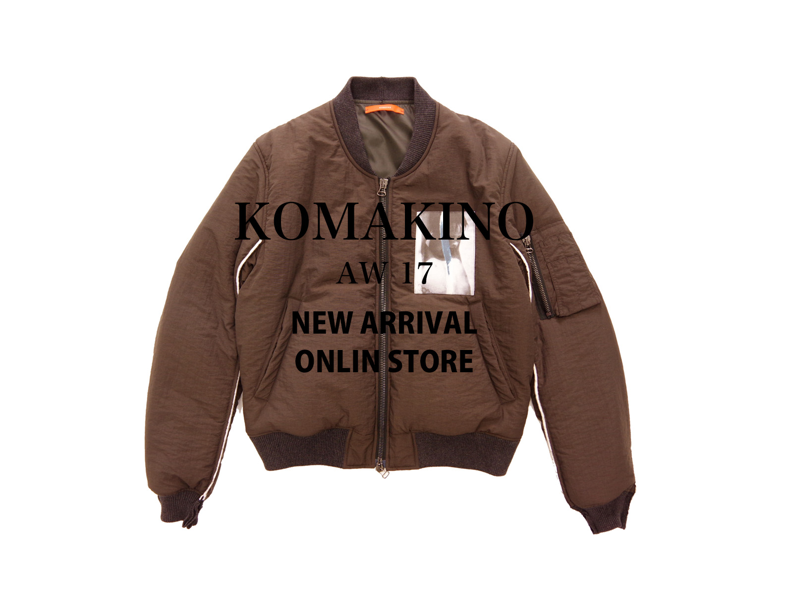 KOMAKINO AW17 NEW ARRIVAL ONLINE STORE